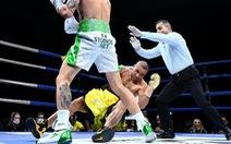 Đánh trận cuối rồi giải nghệ, huyền thoại quyền anh Úc bị knock-out 'tàn bạo' chỉ sau 2 phút