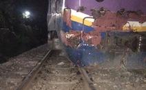 Thông tuyến đường sắt Bắc - Nam sau hơn 7 giờ gián đoạn vì tàu SE21 va xe container