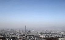 Bão cát Trung Quốc bao trùm Hàn Quốc, Triều Tiên yêu cầu khách nước ngoài ở nhà