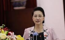 Chủ tịch Quốc hội: 'Chúng tôi cũng đi trước về công nghệ số, chẳng kém bên Chính phủ'