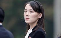 Em gái ông Kim Jong Un cảnh báo Mỹ đừng 'phát tán mùi thuốc súng'
