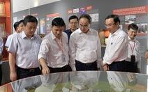 Lãnh đạo TP.HCM thăm Công viên phần mềm Quang Trung