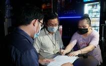 Lực lượng chức năng 'xuống đường' yêu cầu chủ quán bia đường Phạm Văn Đồng giảm tiếng ồn