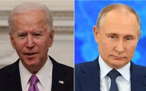 Ông Biden nói ông Putin là 'kẻ giết người', Nga giận dữ đáp trả
