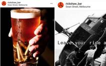 Người gốc Việt phẫn nộ với quán bar Úc trang trí phong cách chất độc da cam