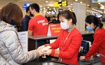 Vietjet tung hàng triệu voucher 100.000 đồng cho mỗi vé máy bay