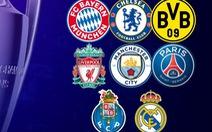 Bóng đá Anh áp đảo vòng tứ kết Champions League