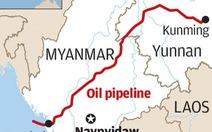 Đường ống dẫn dầu của Trung Quốc ở Myanmar bị dọa 'cho nổ tung'