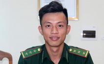 Chàng sĩ quan trẻ làm việc nhiều, không ngại khó