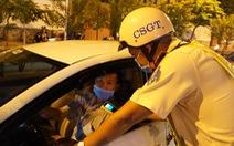 Xử phạt 'kịch khung' nữ tài xế ôtô vi phạm nồng độ cồn