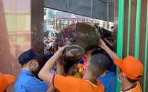 'Ngựa ô' Bình Định vất vả tìm đường vào sân cổ vũ đội nhà
