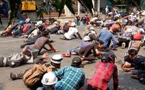 Myanmar: Tiếp tục nổ súng vào người biểu tình, 9 người thiệt mạng