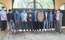 Thuê phòng karaoke sát phạt nhau, 11 người bị bắt