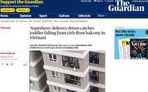 The Guardian: Tài xế 'siêu anh hùng', một loạt báo tiếng Hoa đưa tin