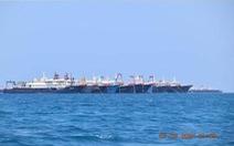 Hơn 200 tàu Trung Quốc 'không thực sự đánh bắt cá', tụ về một nơi trên Biển Đông