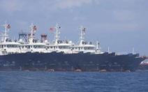 220 tàu tụ trên Biển Đông, Bắc Kinh nói chỉ là 'tàu cá cùng trú ẩn'