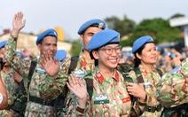 Việt Nam lần thứ 3 cử lực lượng tham gia gìn giữ hòa bình LHQ