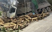 Xe tải chở keo mất lái đâm vào taluy dương, 7 người chết thương tâm