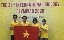 TP.HCM: Học sinh đoạt huy chương vàng Olympic quốc tế được thưởng 200 triệu