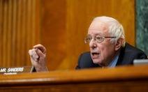 Thượng nghị sĩ Bernie Sanders: 'Hôm qua ông Trump bị cấm Twitter, ngày mai có thể là ai đó'