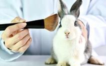 'Làn sóng' cấm thử nghiệm mỹ phẩm trên động vật