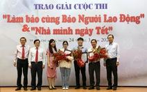 Trao giải cuộc thi Làm báo cùng báo Người Lao Động và Nhà mình ngày Tết