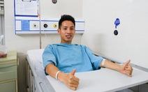 Bác sĩ phẫu thuật cho Hùng Dũng: 'Có thể mất 6 tháng để trở lại thi đấu đỉnh cao'