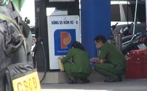 Công an phong tỏa cửa hàng xăng dầu ở quận Gò Vấp, TP.HCM