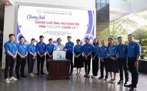 Trường ĐH Kinh tế - luật trao 50 triệu đồng 'Cùng Tuổi Trẻ góp vắc xin COVID-19'