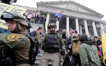 Nhóm cực hữu Mỹ tính đào địa đạo, chiến đấu sau bạo loạn ở Đồi Capitol