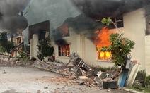 Cháy lớn tại nhà máy may xuất khẩu ở Thanh Hóa