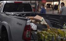 Đấu giá xe bán tải, được 'nhận kèm' 20kg ma túy đá cất giấu trên xe