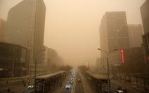 Bão cát ở cấp độ nguy hiểm sắp càn quét Trung Quốc