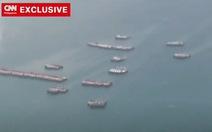 Đài CNN tung video mô tả hàng trăm tàu Trung Quốc ở Đá Ba Đầu