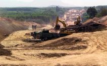 Dự án cao tốc Phan Thiết - Dầu Giây: đề nghị rút ngắn thủ tục cấp phép mỏ vật liệu