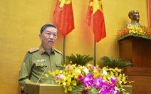 Bộ trưởng Tô Lâm: 'Bảo vệ an ninh quốc gia là đảm bảo cuộc sống người dân'