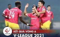 Kết quả V-League 2021: CLB Hà Nội rớt khỏi top 3