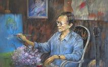 Dùng hội họa chuyển tải nhạc Trịnh