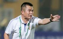 HLV Phạm Minh Đức: 'Cầu thủ Hà Tĩnh không dám chơi bóng với Hà Nội FC'
