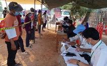 Số ca COVID-19 mới của Campuchia lại vọt lên 3 con số