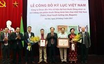 """Lần đầu tiên, tổ chức kỷ lục Việt Nam trao danh hiệu """"số 1"""" cho dược phẩm"""