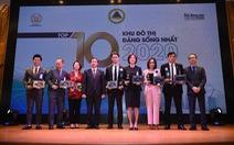 Vạn Phuc City nhận danh hiệu Top 10 Khu đô thị đáng sống nhất năm 2020