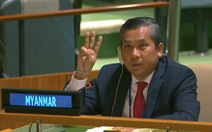 Ông Kyaw Moe Tun mới bị sa thải, lại được bổ nhiệm làm đại diện Myanmar tại Liên Hiệp Quốc