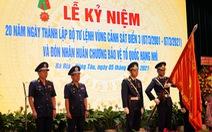 Bộ tư lệnh Vùng cảnh sát biển 3 nhận Huân chương Bảo vệ Tổ quốc hạng nhì