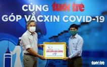 Vinacam ủng hộ 500 triệu cho chương trình 'Cùng Tuổi Trẻ góp vắc xin COVID-19'