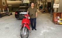 Chủ xe Mercedes bị va quẹt không bắt đền mà còn tặng tiền và xe máy cho người tông mình!