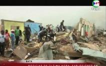 Nổ kho chứa đạn quân đội ở Guinea Xích Đạo: 20 người chết, 600 người bị thương