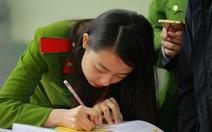Các trường công an tuyển sinh: Nghiêm cấm thí sinh 'rải thảm' đăng ký sơ tuyển