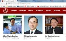 Bị tố gian lận trong nghiên cứu, giáo sư Phan Thanh Sơn Nam nói gì?