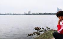 Nước hồ Tây chuyển màu xanh rêu, Bộ Tài nguyên - môi trường đề nghị Hà Nội vào cuộc